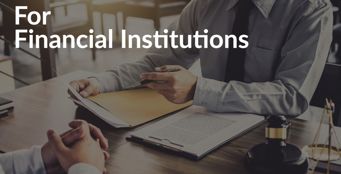 for financial institutions